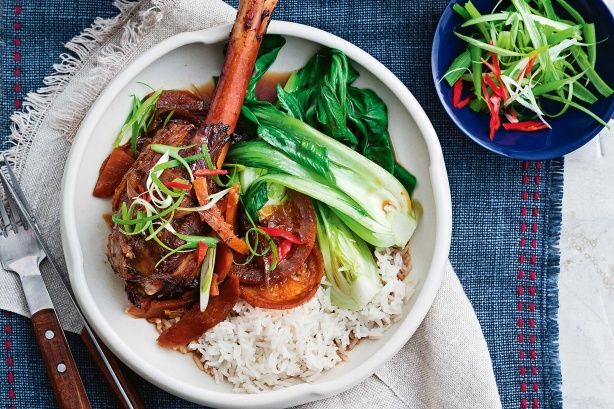 This hearty lamb shank meal is usually a labour of love