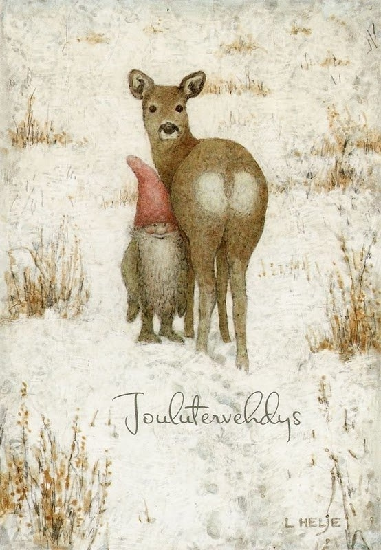 Julenisse Christmas greetings