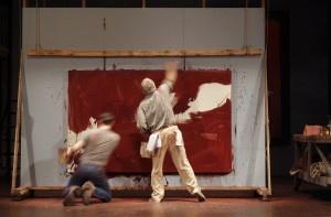"""Paint, ideas fly in play about the life, works of raging Mark Rothko"" - Arizona Daily Star: Fellow Arts, 2011 2012 Season, Offer Red Themed, Arts Organizations, Arizona Theatre, Mark Rothko"