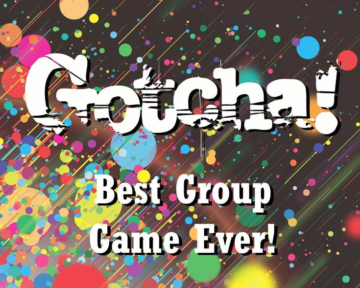 fun group games gotcha - Halloween Games For Groups
