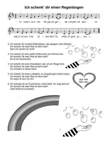 Ich schenk dir einen Regenbogen - Nimm Drei | Kinder lied