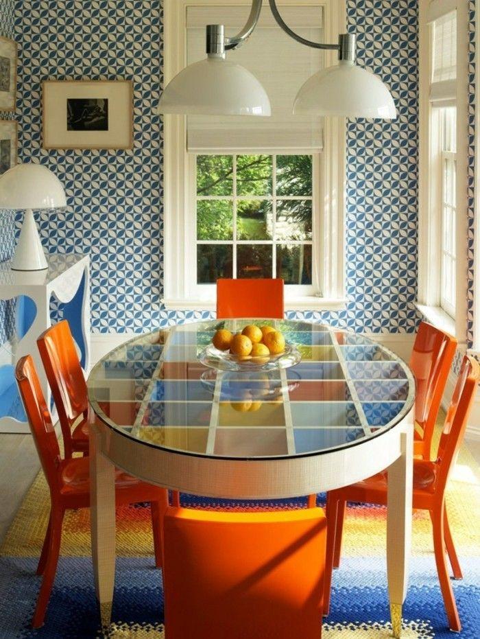 Die besten 25+ Orange stühle Ideen auf Pinterest viktorianisch - esszimmer stuhle perfektes ambiente farbe