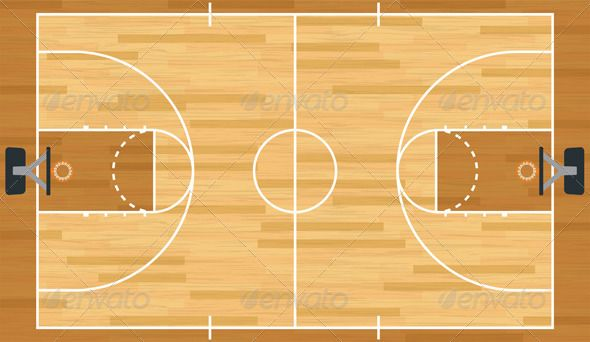 Best 25 volleyball court dimensions ideas on pinterest for How wide is a basketball court
