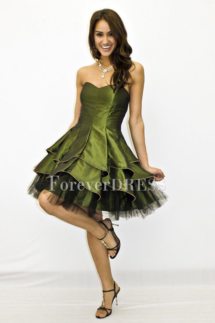 16 best 2013 discount shortmini taffeta prom dress under
