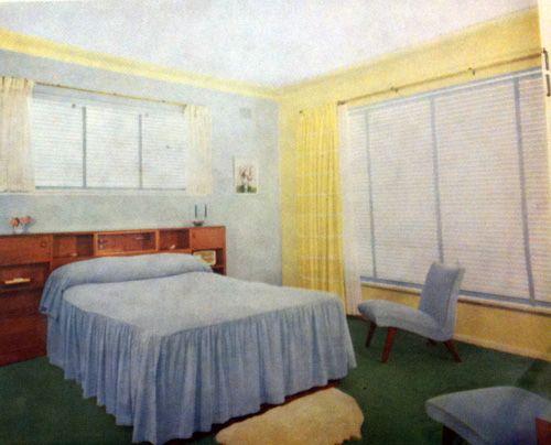Bedroom Furniture 1950 S 182 best 1950s bedroom images on pinterest | 1950s bedroom, mid