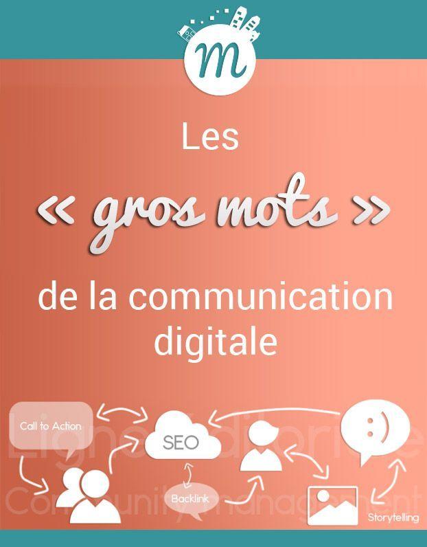 Les Gros Mots De La Communication Digitale Magali Tuffier Communication Digitale Sereine En 2020 Communication Strategie De Communication Mots