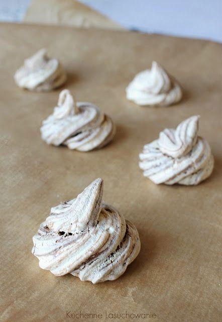 Kuchenne Łasuchowanie: Bezy z czekoladą