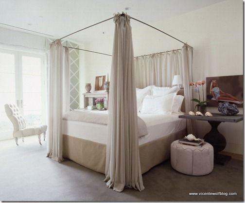 18 best canopy beds images on Pinterest Schlafzimmer ideen, Rund - schlafzimmer braun weiß