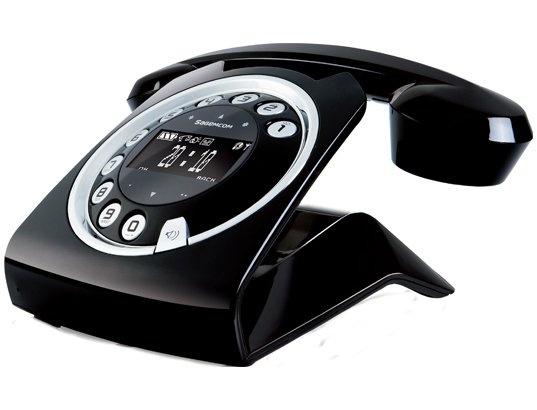 Téléphone sans fil SAGEMCOM Sixty Noir
