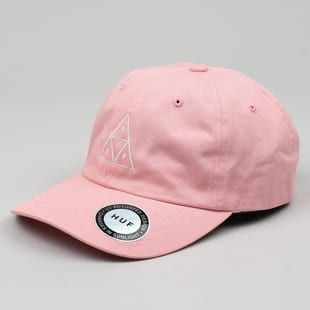 Kšiltovka Huf Triple Triangle UV Curved Brim Cap růžová UNI