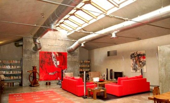 The INCREDIBLE 50's style basement !!