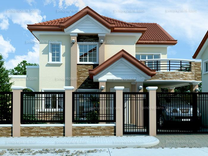 Beautiful MHD 2012005 Is An Elegant And Outstanding Example Of Modern House Designs.  Combining The