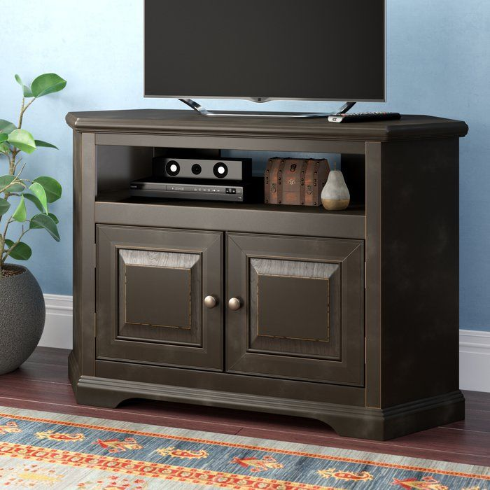 Wentzel Corner Tv Stand For Tvs Up To 40 Corner Tv Stand Tv Stand Red Barrel Studio 40 inch tv stand