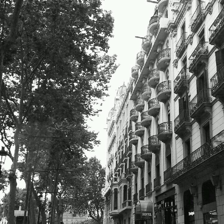 Barcelona Spain La Rambla