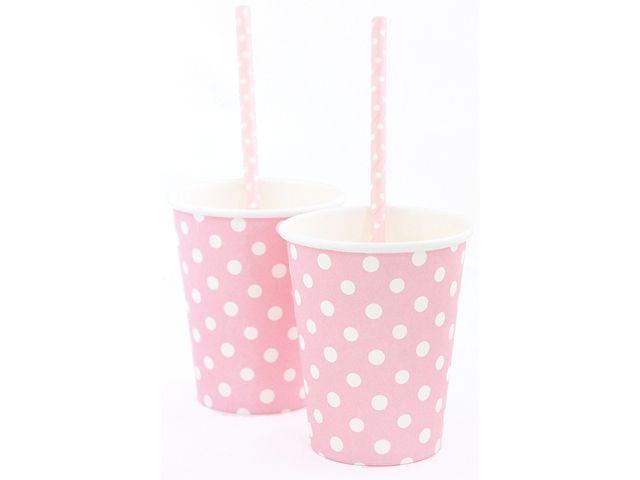 Pappkopper Pink & Mix, 8 stk. - Congratulations