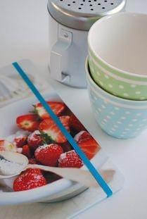 Anteckningsbok - jordgubbar