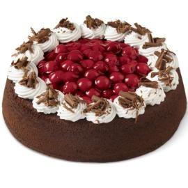 Elegant Chocolate Cherry Cake