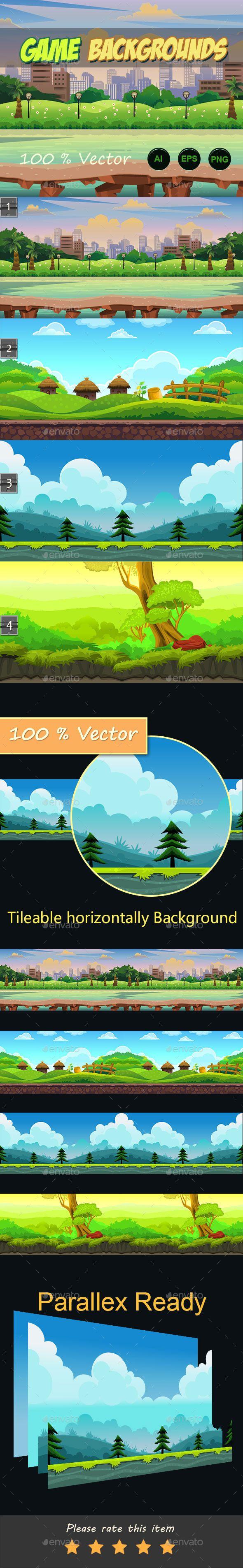 4 game backgrounds Download here: https://graphicriver.net/item/4-game-backgrounds/11109392?ref=KlitVogli