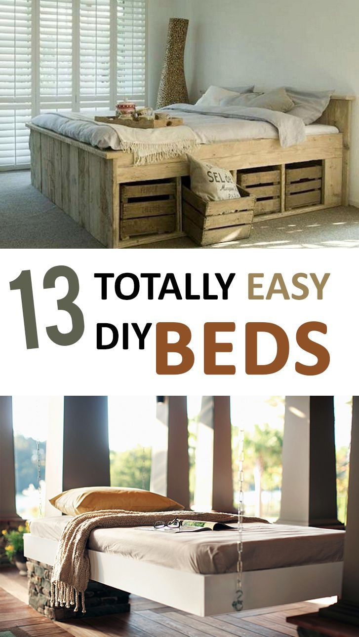 5085 best crafty images on pinterest diy crafts and ideas 13 totally easy diy beds homemade bedseasy beddecorating