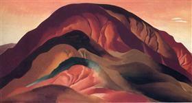 Rust Red Hills - Georgia O'Keeffe