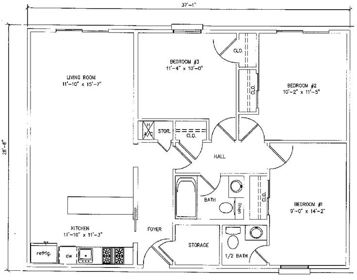 12 best HOUSE PLANS images on Pinterest Square feet Garage