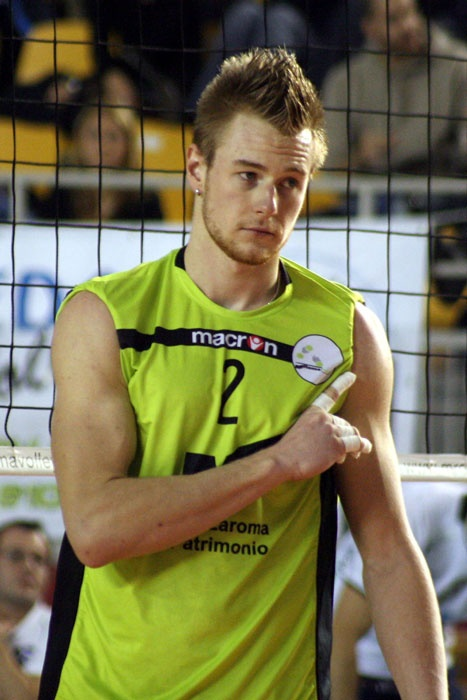 Ivan Zaytsev, an italian volleyball player