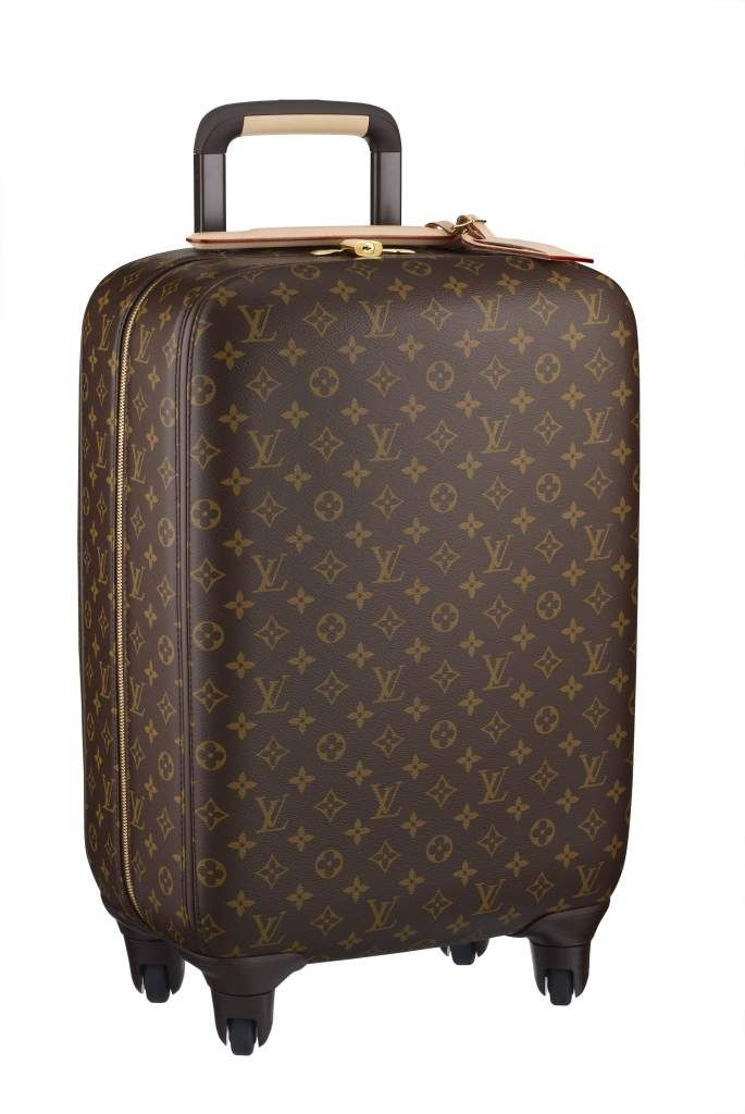 Louis Vuitton travel luggage, the four wheeled Zephyr.