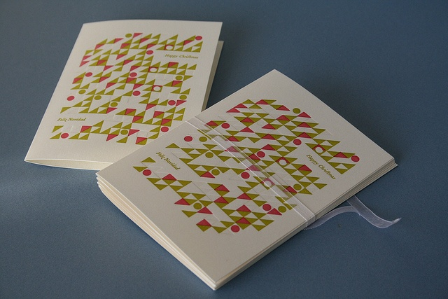 Christmas card 2013 by Inkthread Press, via Flickr