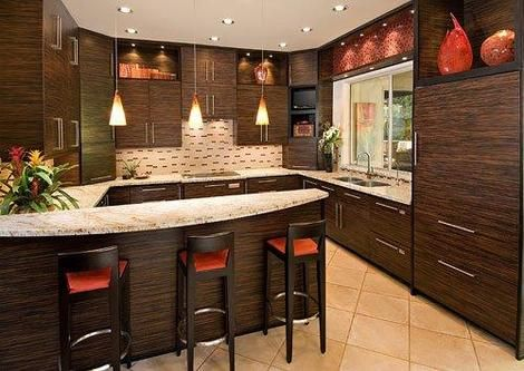 Woodcase Fine CabinetryDecor Ideas, Cabinets Colors, Orange Kitchens, Contemporary Kitchens, Future House, Dreams House, Kitchens Ideas, Interiors Design, Colors Palettes