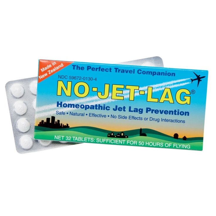 No Jet Lag Pills; Homeopathic Pills Jet Lag Cure