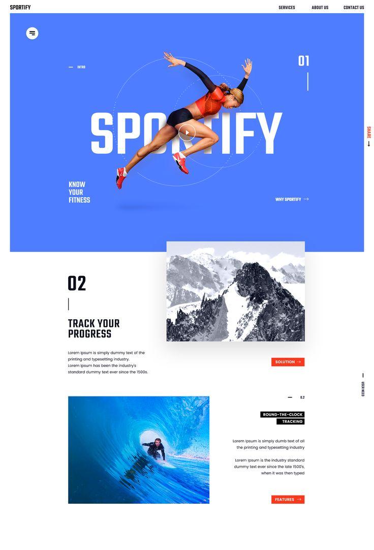 Sportify header44 dribbblehd
