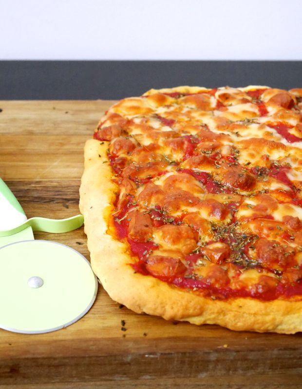 Pizza a lievitazione istantanea
