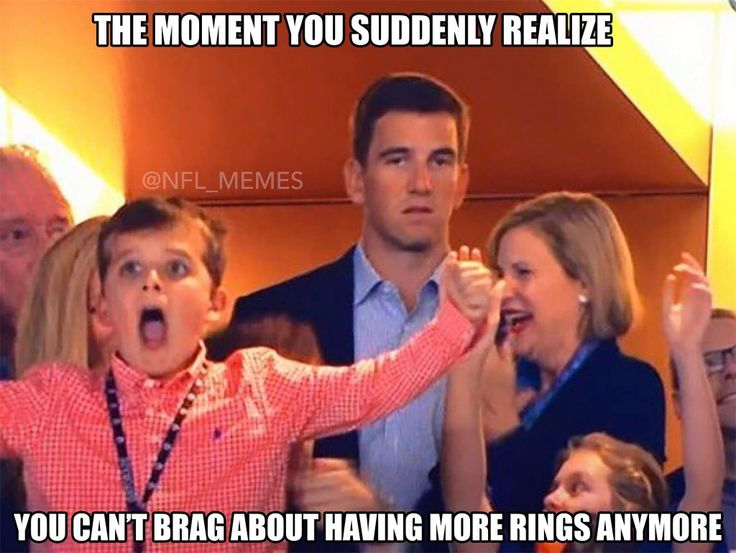Eli Manning watching brother Peyton win Super Bowl 50