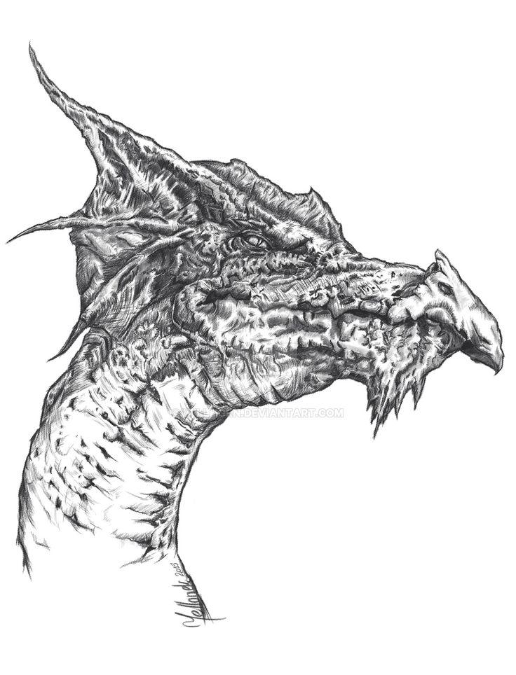 Dragon head by Yellonek at http://willhorn.deviantart.com or  https://www.facebook.com/yellogfx/