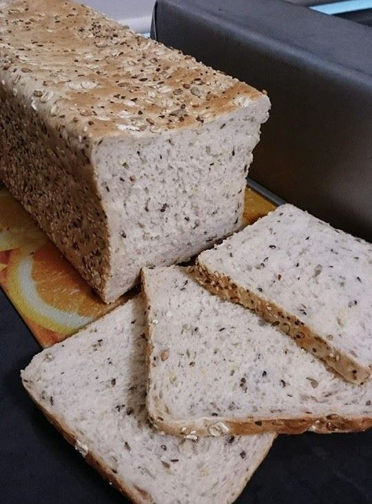Jumbo White Multigrain Bread Loaf