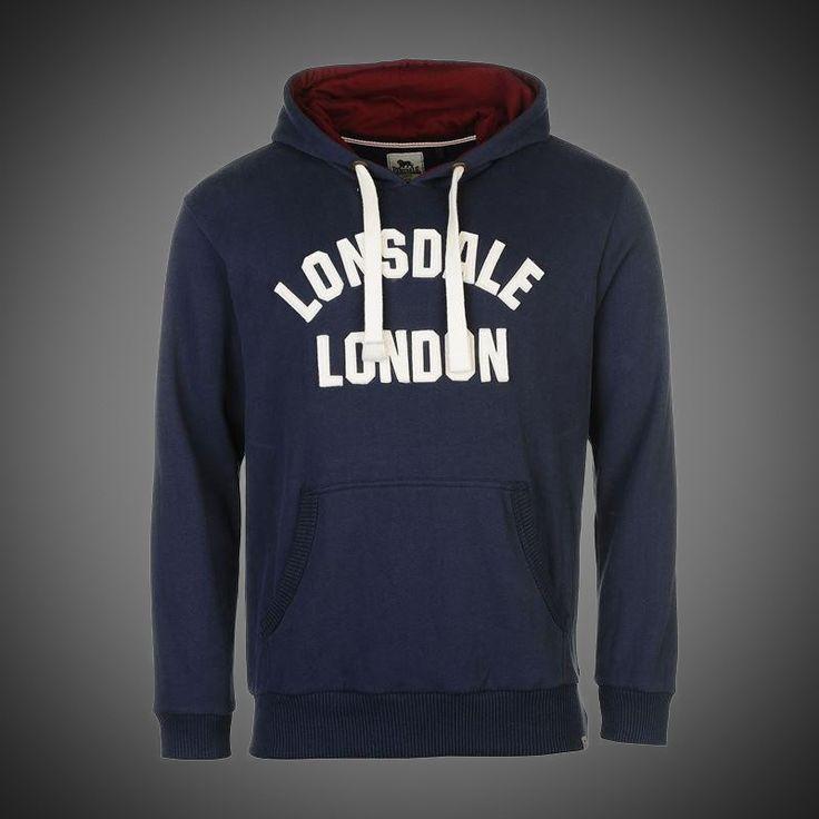 Pánská mikina Lonsdale London navy