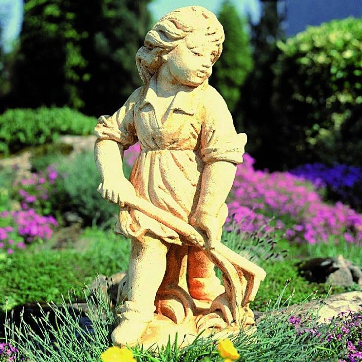 #garten #dekoration #figur #steinfigur #gussstein #kunststein