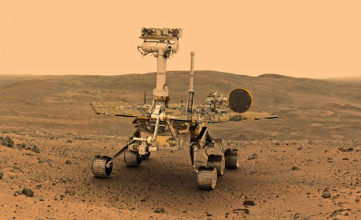 "Checking in on Opportunity, which we first ""drove"" 10 years ago. Read the full story at Car and Driver."