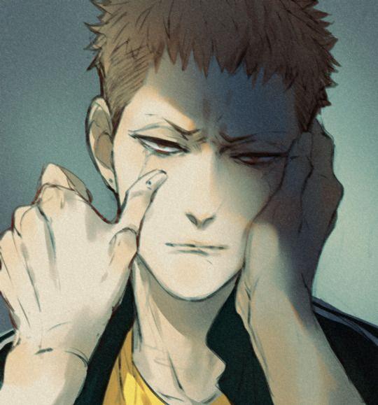 Mo Guan Shan is crying