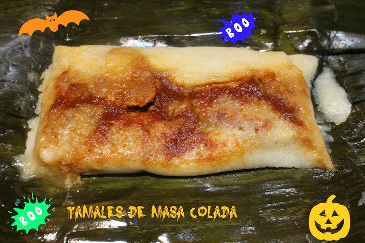 TAMALES DE MASA COLADA