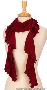 Sew Amazing Scarves by Nancy Zieman/Sewing With Nancy | Nancy Zieman Blog