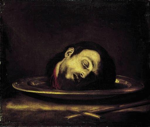 spanishbaroqueart: Jusepe de Ribera Head of Saint John the Baptist