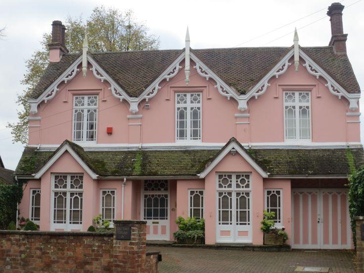 Pink House in Stratford Upon Avon