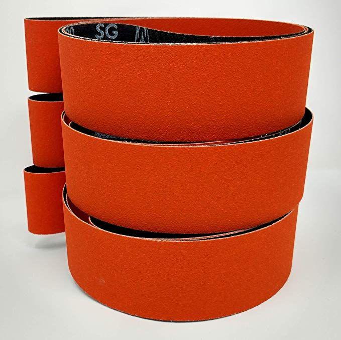 Norton Blaze 2x72 Premium Ceramic Sanding Sharpening Belts 3 Pack With 36 Grit 80 Grit 120 Grit Belts Review Belt Grinder Knife Making Ceramics