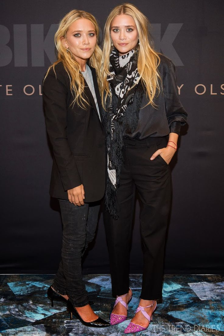 Mary-Kate and Ashley Olsen at the launch of Bik Bok by Mary-Kate and Ashley Olsen in Oslo, Norway - August 7, 2013