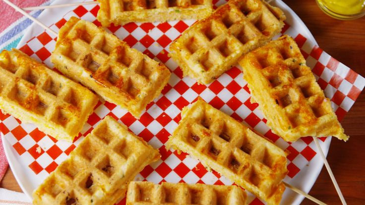 PSA: You Can Make Corn Dogs In Your Waffle Maker - Delish.com