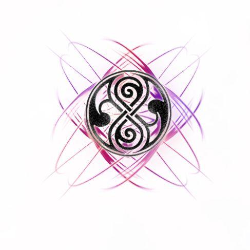 vortex tattoo   The Seal of Rassilon by VortexVisuals