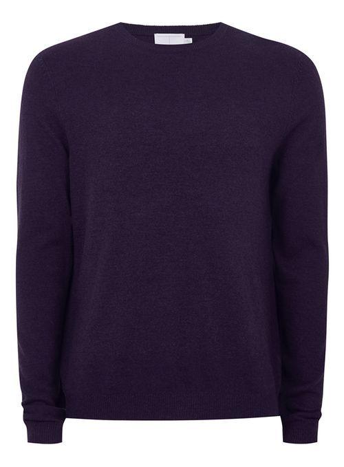 Pull violet raisin en cachemire - Pulls & Gilets Homme - Vêtements - TOPMAN FRANCE