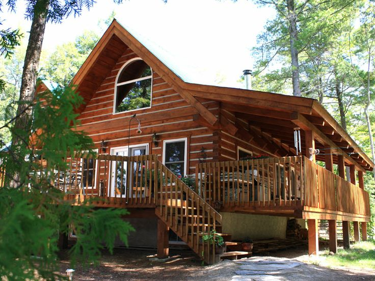 Eco log homes haliburton ontario awesome log homes for Eco cabin kits