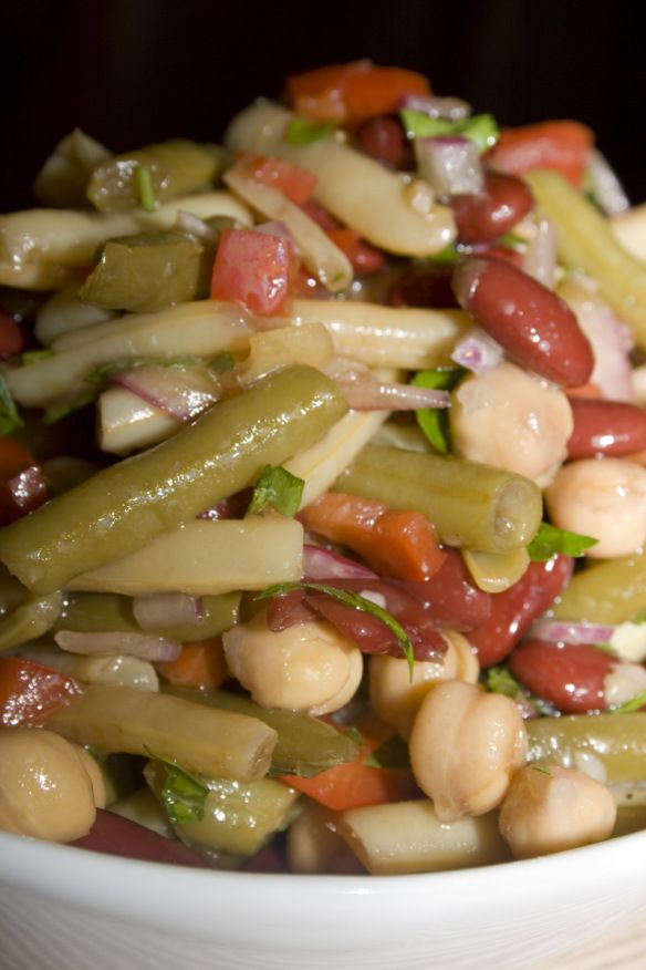 Fabulous Four Bean Salad02